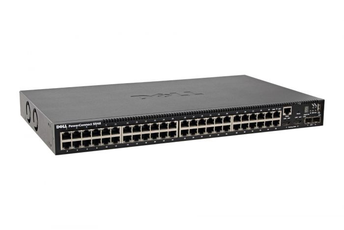 Dell PowerConnect 5548 48 x 1GbE RJ45 + 2 x SFP+ Switch - Ref