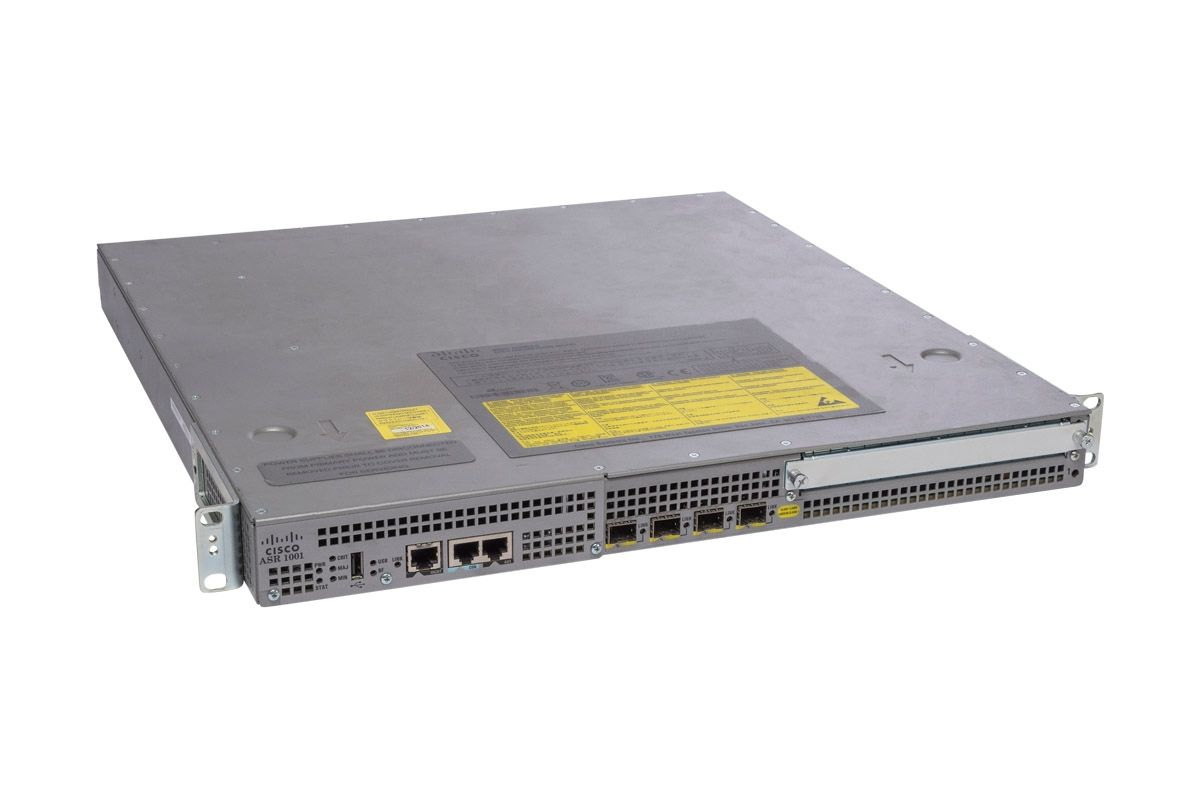 Cisco ASR1001 Router 4 x 1Gb SFP with IP Base License