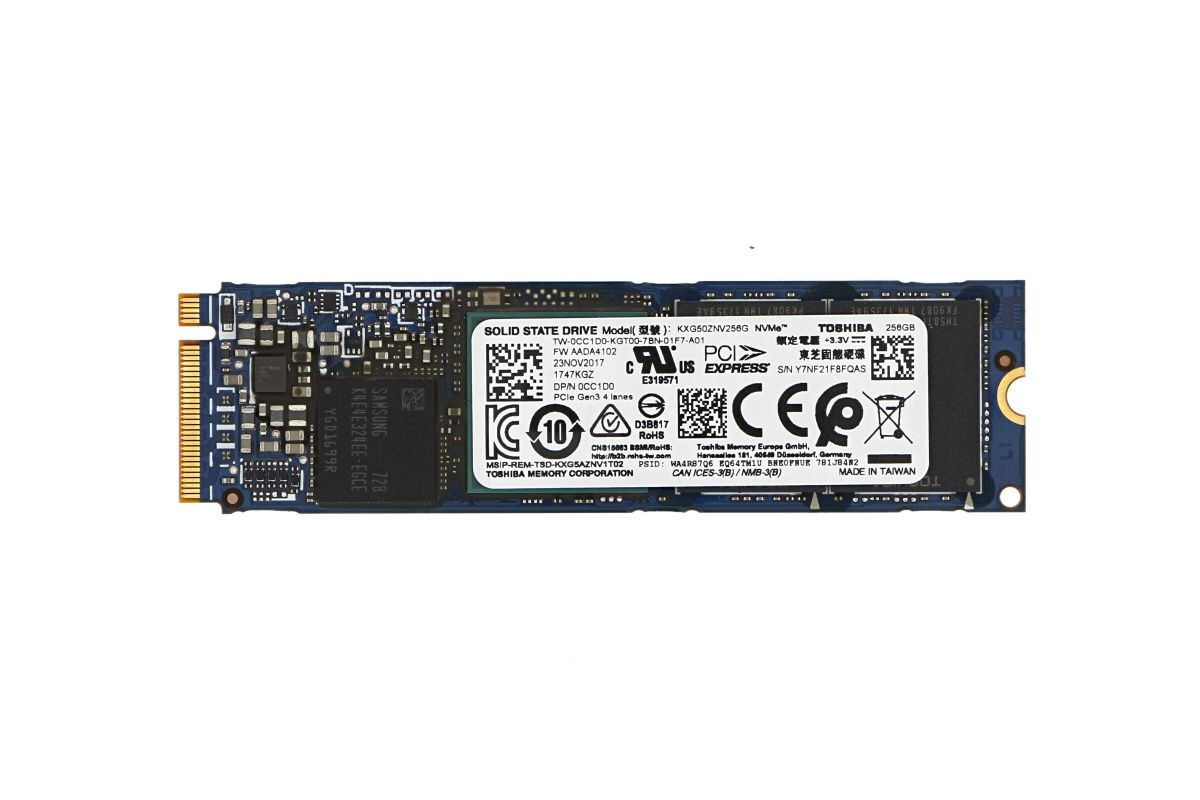 Dell 256GB M 2 PCIe NVMe Solid State Drive (SSD) - CC1D0
