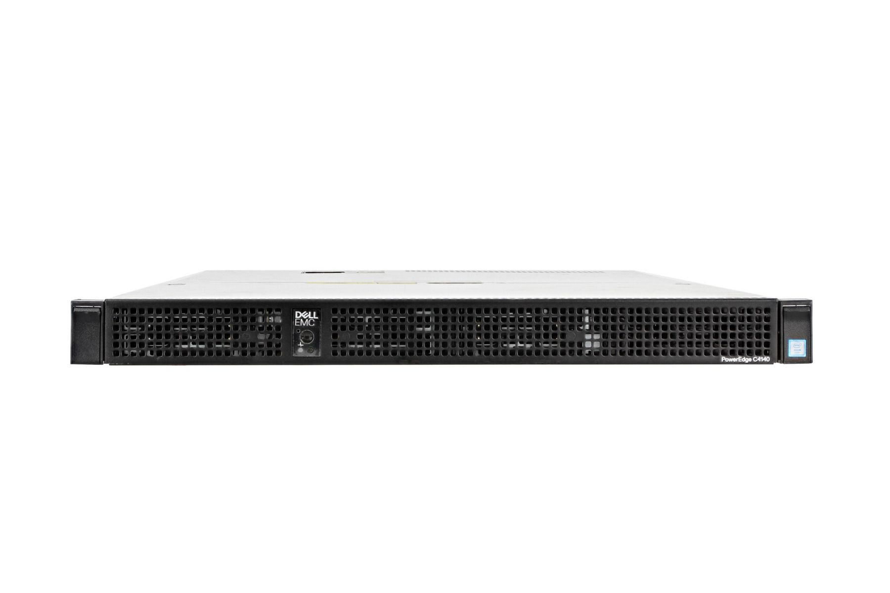 Dell PowerEdge C4140 Server, 2 x Bronze 3104 1 7GHz Six-Core, 16GB, 1 x  256GB M 2 SATA SSD, iDRAC9 Exp, 2 x Tesla P40