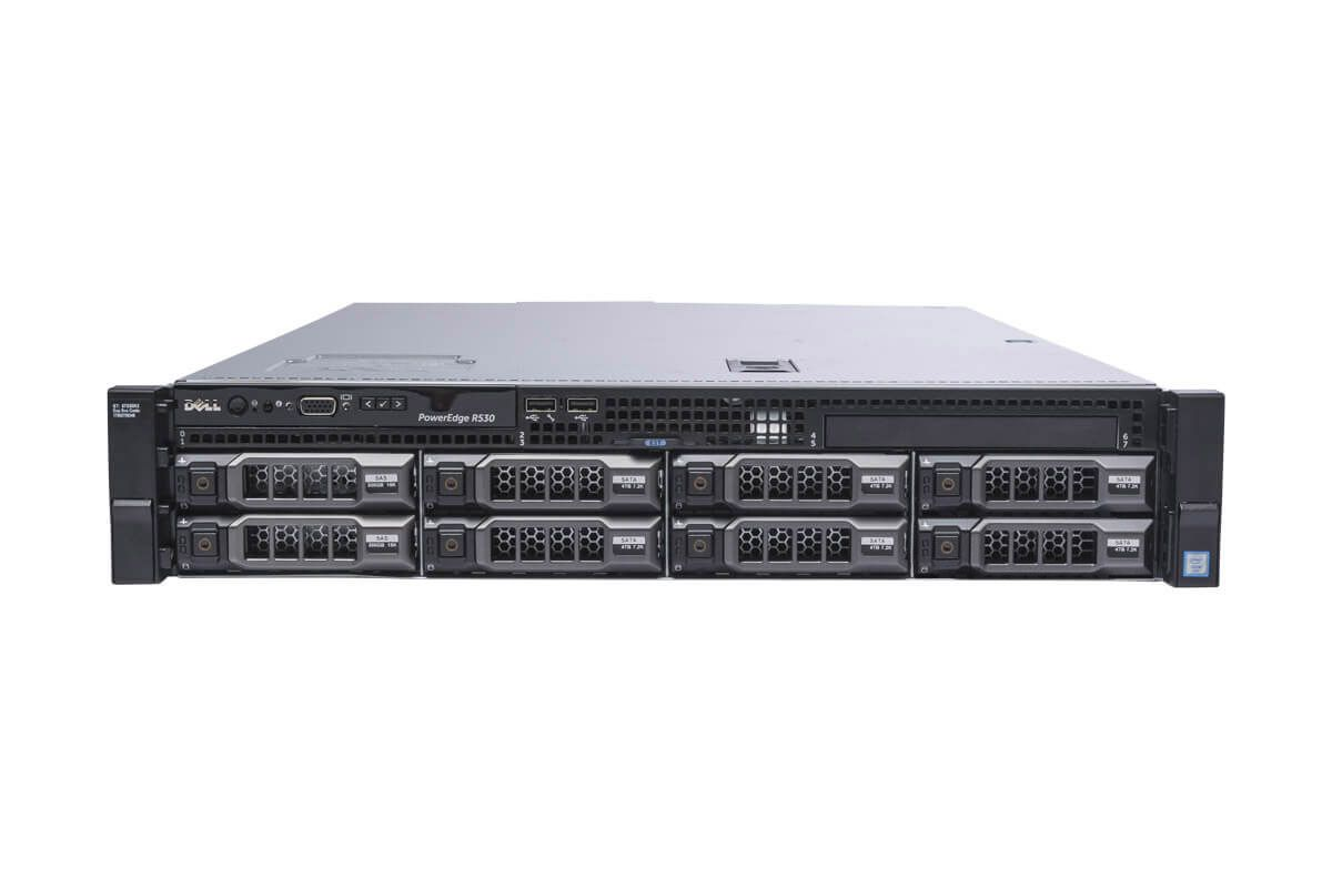 Dell PowerEdge R530 1x8 3 5