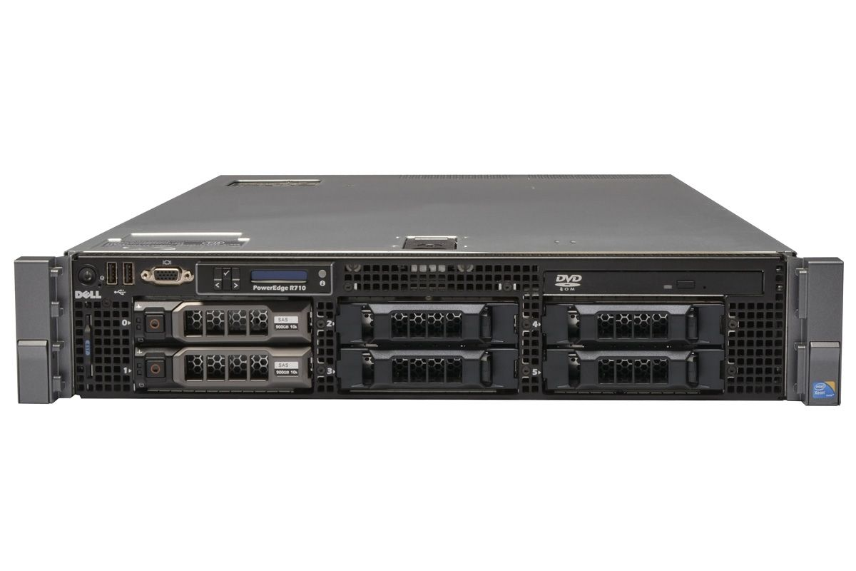 Dell PowerEdge R710 1x6 3 5