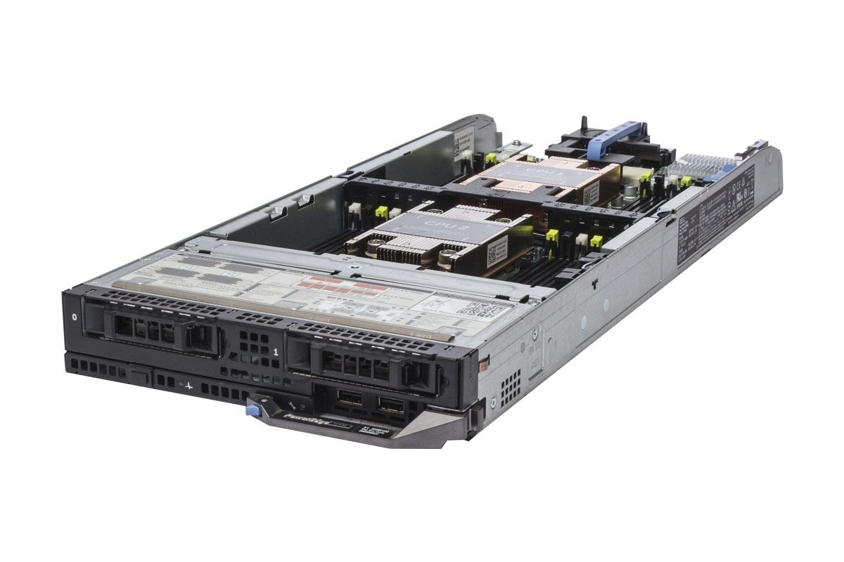 Dell PowerEdge FC630 2 x E5-2660v3 2 6GHz Ten-Core, 32GB, 2 x 146GB SAS,  H730, iDRAC8 Ent