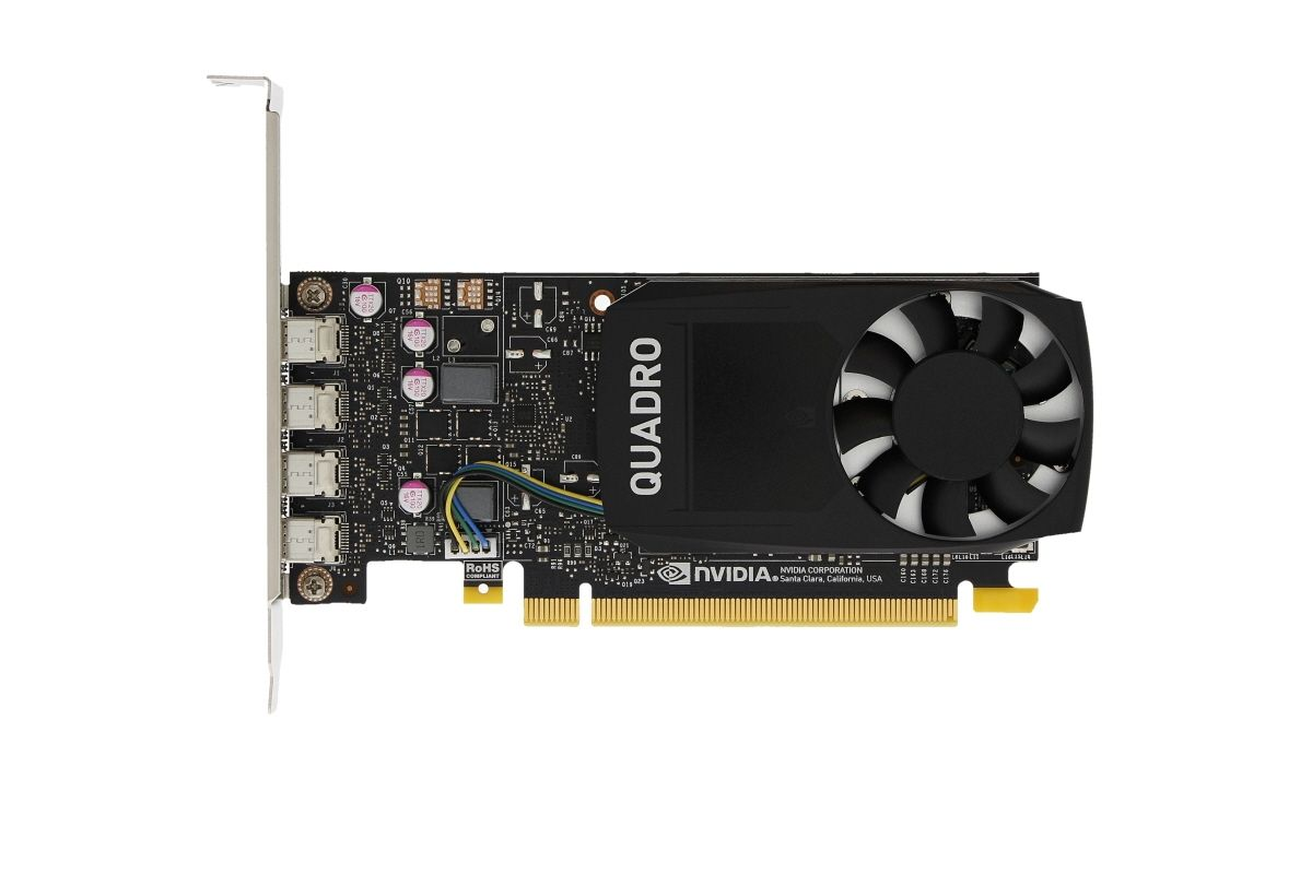 Dell Nvidia Quadro P1000 4GB Graphics Card - G7T21