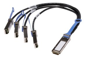 Dell QSFP+ to 4x SFP+ Breakout Cable 0.5M 2W34T