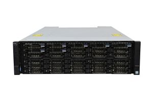Dell Compellent SC7020 with 10Gb/s iSCSI SFP+ Controllers 7 x 1.92TB SSD SAS 12G