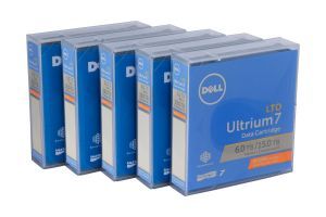 Dell LTO-7 Worm Data Cartridge - NFV09 - 5 Pack - New