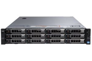 "Dell PowerEdge R720xd 1x12 3.5"", 2 x E5-2660v2 2.2GHz Ten-Core, 128GB, 12 x 8TB 7.2k SAS, PERC H710, iDRAC7 Express"