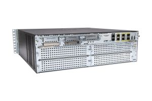 Cisco 3925/K9 Router w/ C3900-SPE100/K9 and IP Base License