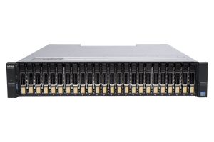 Dell Compellent SCv2020 with 1Gb/s iSCSI Controllers 24 x 1.2TB 10k