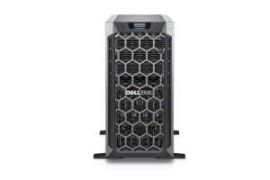"Dell PowerEdge T340 1x8 3.5"", 1 x E-2124 3.3GHz Quad-Core, 32GB, 4 x 4TB SAS, PERC H730, iDRAC9 Basic"