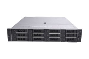 "Dell PowerEdge R740xd 1x12 3.5"", 2 x Gold 6126 2.6GHz Twelve-Core, 128GB, 12 x 8TB 7.2k 4Kn SAS, PERC H740P, iDRAC9 Ent"