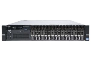 "Dell PowerEdge R820 1x16 2.5"", 4 x E5-4650v2 2.4GHz Ten-Core, 512GB, 16 x 300GB SAS, PERC H710, iDRAC7 Ent"