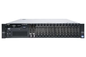 "Dell PowerEdge R820 1x16 2.5"", 4 x E5-4610v2 2.3GHz Eight-Core, 96GB, 2 x 300GB SAS, PERC H710, iDRAC7 Ent"