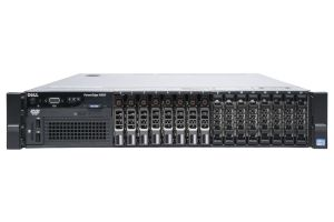 "Dell PowerEdge R820 1x16 2.5"", 4 x E5-4610v2 2.3GHz Eight-Core, 128GB, 8 x 300GB SAS, PERC H710, iDRAC7 Ent"