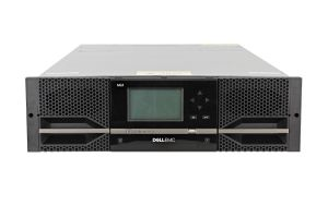 Dell PowerVault ML3 with 2 x LTO-7 FC Half Height Tape Drives