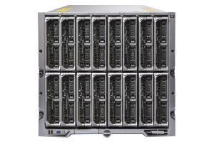 Dell PowerEdge M1000e - 16 x M620, 2xE5-2609, 32GB, PERC H310, Ent