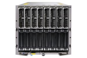 Dell PowerEdge M1000e - 8 x M620, 2xE5-2650, 16GB, 2x300GB SAS 10k, PERC H710, Ent