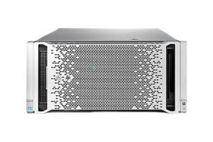 HP Proliant ML350P Gen8 2x8, 2 x E5-2680v2 2.8GHz Ten-Core, 96GB, 16 x 1TB SAS, P420i/512MB