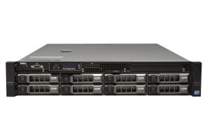 "PowerEdge R510 1x8 3.5"", 2 x E5645 2.4Ghz Six-Core, 32GB, 8 x 900GB 10k SAS, H700"