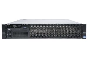 "Dell PowerEdge R820 1x16 2.5"", 4 x E5-4610v2 2.3GHz Eight-Core, 32GB, PERC H710, iDRAC7 Ent"