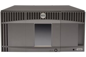 Dell PowerVault ML6010 with 2 x LTO-5 FC Full Height Tape Drive