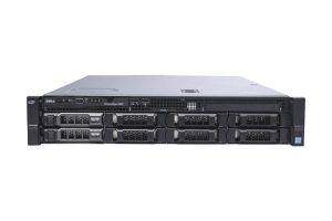 "Dell PowerEdge R530 1x8 3.5"", 2 x E5-2603v3 1.6GHz Six-Core, 32GB, 2 x 10TB 4Kn SAS, PERC H730, Basic Management"