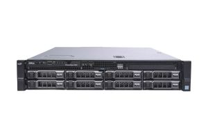 "Dell PowerEdge R530 1x8 3.5"", 2 x E5-2603v3 1.6GHz Six-Core, 32GB, 8 x 8TB 4Kn SAS, PERC H730, Basic Management"