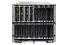 Dell PowerEdge M1000e - 4 x M520, 2xE5-2420, 16GB, PERC H310, Ent