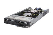 "Dell PowerEdge FC630 1x2 2.5"" SAS, 2 x E5-2650v3 2.3GHz Ten-Core, 128GB, 2 x 200GB SAS SSD, PERC H730P, iDRAC8 Ent"