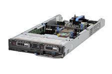 "Dell PowerEdge FC640 1x2 2.5"" SATA, 2 Silver 4110 2.1GHz Eight-Core, 64GB, 2 x 240GB SATA SSD, PERC S140, iDRAC9 Ent"