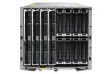 Dell PowerEdge M1000e - 4 x M820, 2xE5-4607, 32GB, PERC H310, Ent