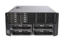 Dell PowerEdge VRTX Rack 1x25, 10 x 1TB SAS, 4 x M620P, 2 x E5-2650 Eight-Core 2.0GHz, 32GB, H710, iDRAC7 Ent