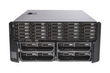Dell PowerEdge VRTX Rack 1x25, 25 x 1TB SAS, 4 x M620P, 2 x E5-2630L Six-Core 2.0GHz, 16GB, H310, iDRAC7 Ent