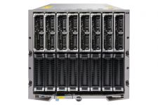 Dell PowerEdge M1000e - 8 x M620, 2xE5-2670, 32GB, PERC H710P, Ent