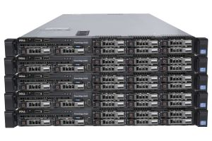 "Dell PowerEdge R420 1x8 2.5"", 2 x E5-2450v2 2.5GHz Eight-Core, 32GB, 8 x 600GB SAS 10k, PERC H710, iDRAC7 Ent - 5 Pack"
