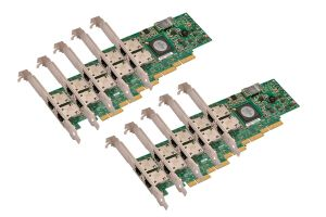 Dell Broadcom 5709 1Gb RJ45 Dual Port Full Height Network Card - G218C *10 Pack*