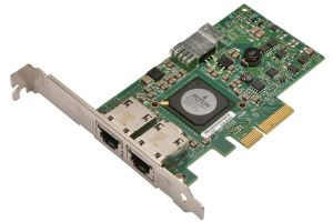 Dell Broadcom 5709 1Gb RJ-45 Dual Port Full Height Network Card - F169G