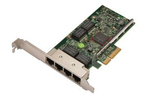 Dell Broadcom 5719 1Gb RJ-45 Quad Port Full Height Network Card - KH08P
