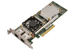 Dell Broadcom 57810A Dual Port 10Gb RJ-45 Low Profile Network Card - HN10N