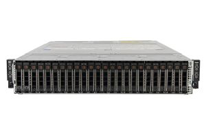 "Dell PowerEdge C6420 1x24 2.5"", 8 x Silver 4110 2.1GHz Eight-Core, 256GB, 24 x 400GB SATA SSD, Onboard SATA, iDRAC9 Basic"