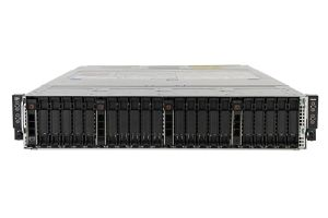 "Dell PowerEdge C6420 1x24 2.5"", 8 x Gold 6126 2.6GHz Twelve-Core, 256GB, 4 x 800GB SATA SSD, Onboard SATA, iDRAC9 Basic"