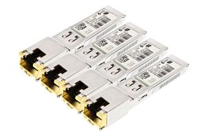 Cisco 1G Copper RJ-45 SFP Short Range Transceiver - GLC-T - 30-1410-03 *4 Pack*