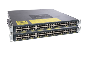Pack of 2 Cisco Catalyst WS-C4948-S Switches w/ Enterprise Services