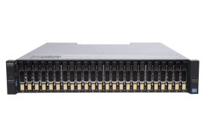 Dell Compellent SCv2020 with 10Gb/s iSCSI Controllers 24 x 400GB 6G SSD SAS