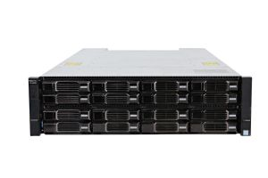 Dell Compellent SCv3000 with 12Gb/s SAS Controllers. 16 x 3TB 6G SAS HD
