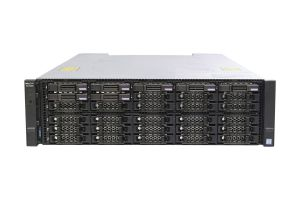 Dell Compellent SCv3020 with 10Gb/s iSCSI Controllers 7 x 2.4TB 10k