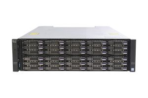 Dell Compellent SCv3020 with 10Gb/s iSCSI Controllers 30 x 1.6TB 6G SSD