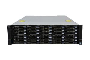 Dell Compellent SC7020 with 10Gb/s iSCSI RJ45 Controllers 30 x 2.4TB SAS 12G