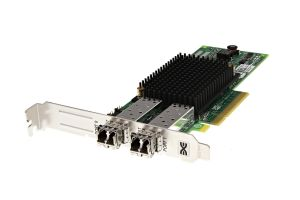 Dell Emulex LPE12002 8Gb FC SFP+ Dual Port Full Height Host Bus Adapter - C856M